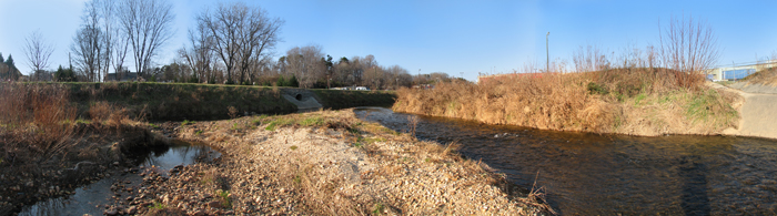 Lovill Creek in Mount Airy, NC