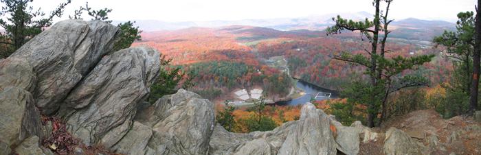 October 2007 Raven Knob Panoramic