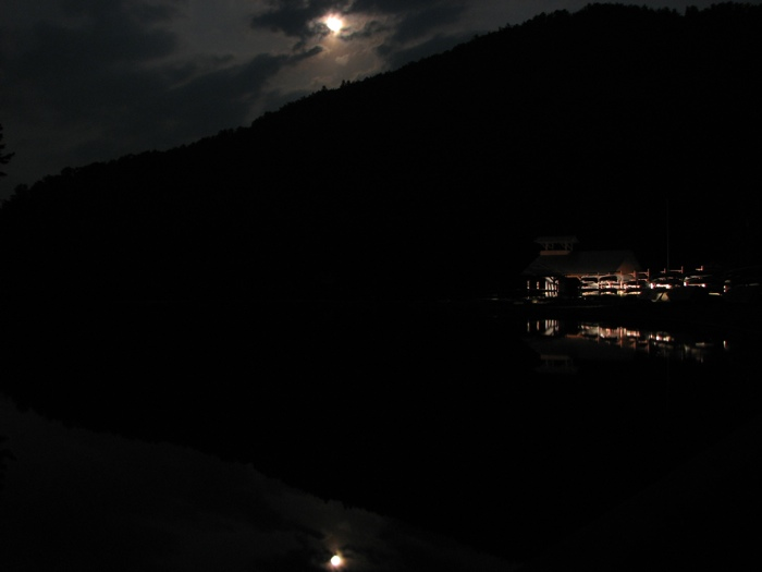 Moonrise over Lake Sobotta
