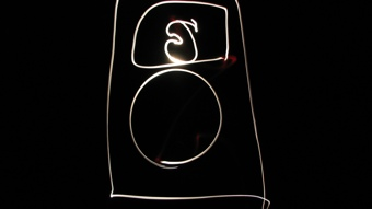 iPod light drawing