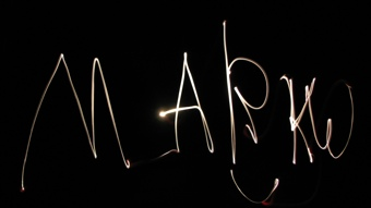 MarkW light drawing