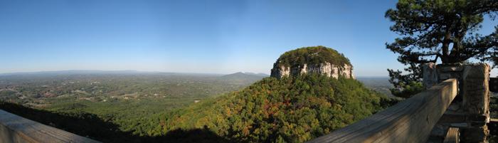 October 2007 Pilot Mountain Panoramic