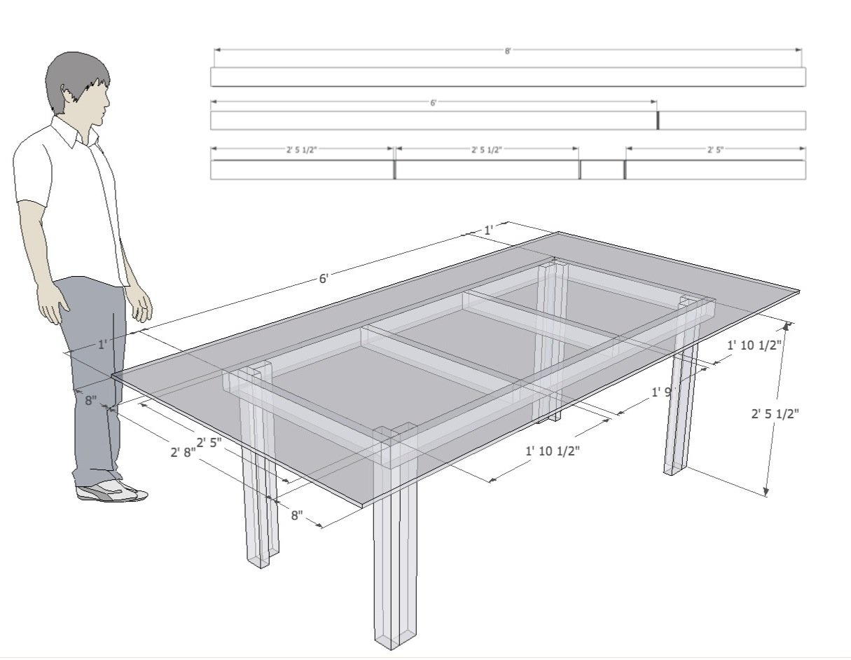 pdf diy table plans sketchup download table plans for
