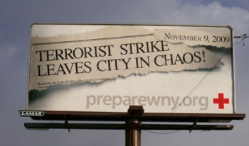 Fear Mongering Billboard