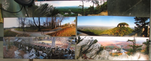 Panoramic Test Prints